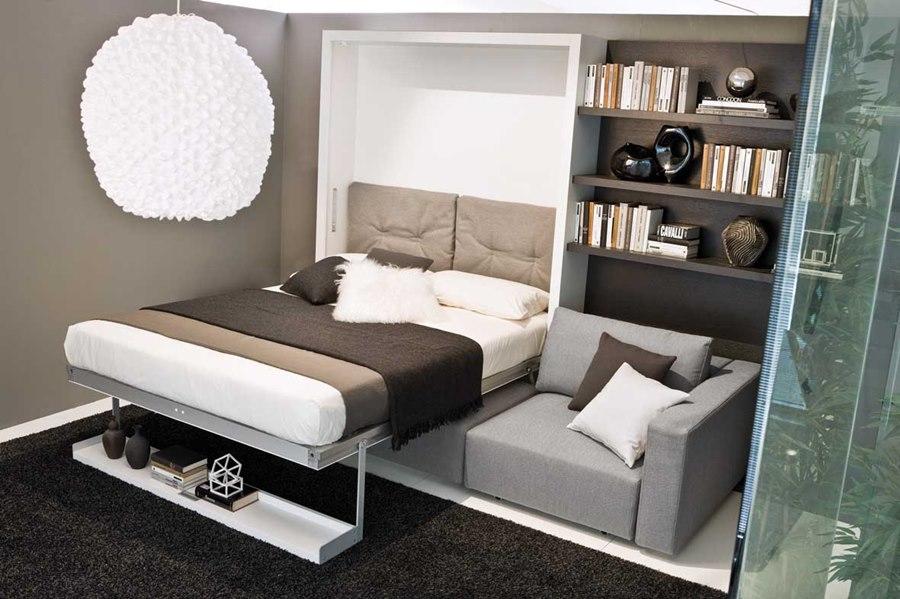 спальня сомещенная с гостиной