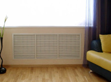 спрятать радиатор отопления