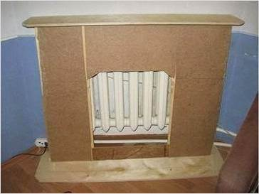 Как спрятать радиатор отопления + фото