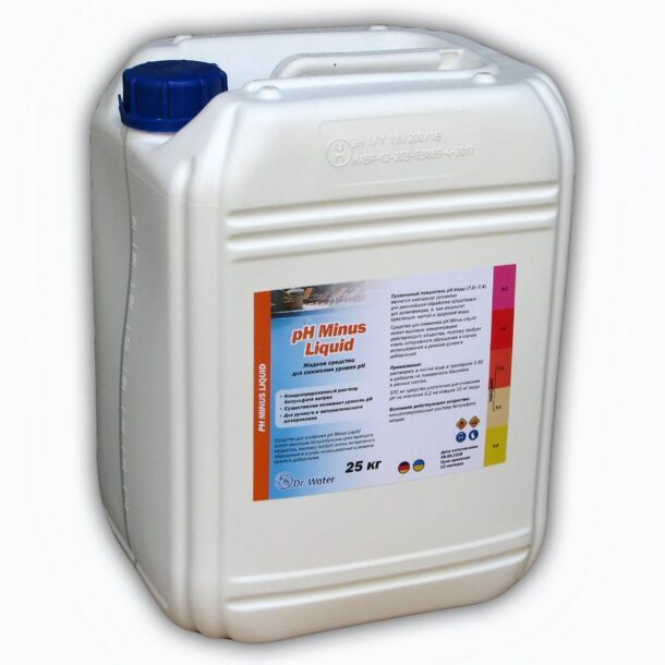 Жидкий регулятор кислотности pH Minus Liquid Dr.Water