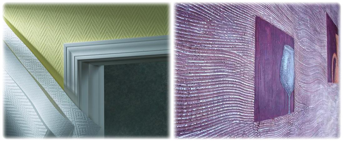стеклообои для стен в прихожей