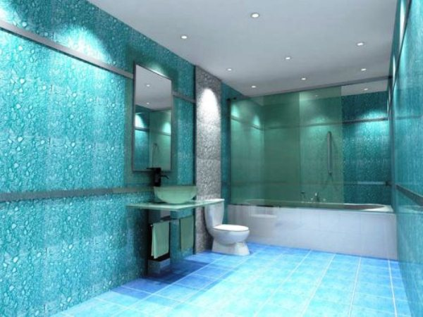 стеклообои для ванной 2