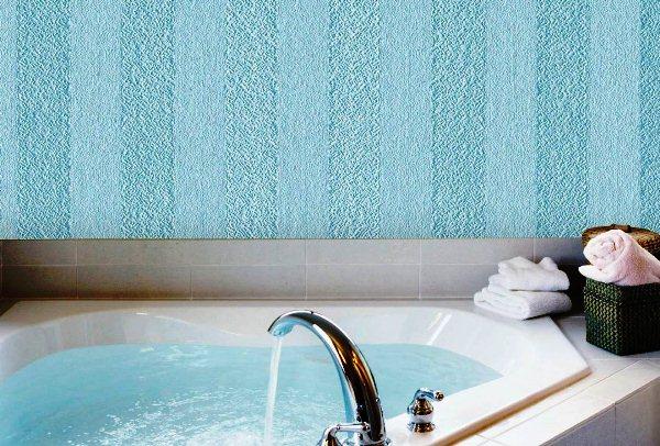 стеклообои для ванной