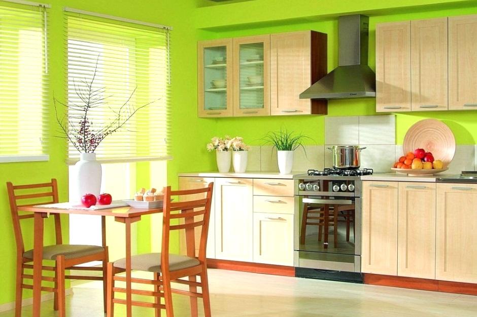 стеклообои на кухне