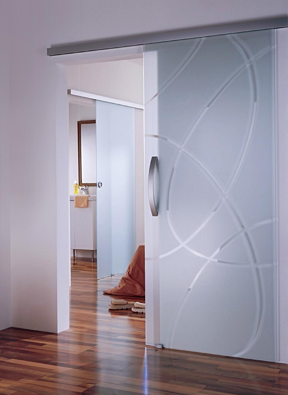 стеклянная межкомнатная дверь 2