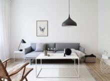 мебель минимализм в гостиной