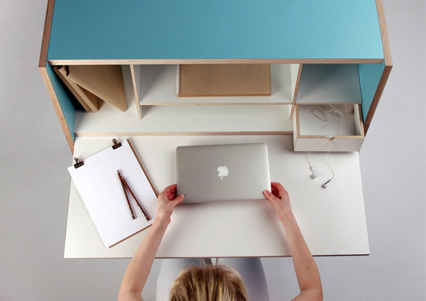 стол для домашнего кабинета 9