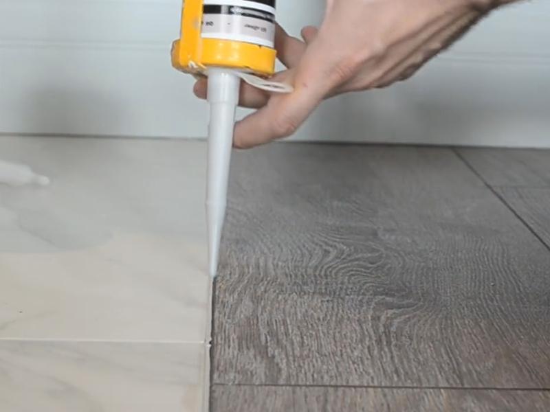 герметик для стыка напольных покрытий