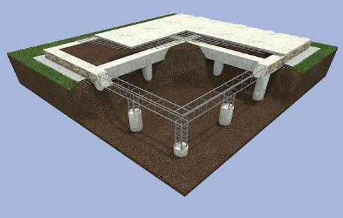 свайный фундамент под частный дом 3