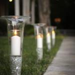 свечи для освещения участка