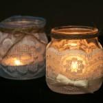 светильники из стеклянных банок для дачи  2