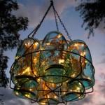 светильники из стеклянных банок для дачи  4