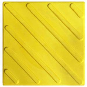 тактильная плитка с наклонными полосами