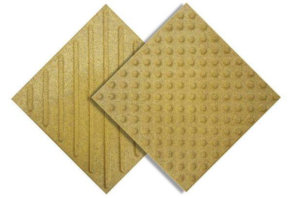 тактильная плитка резиново-полиуретан