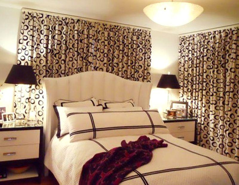 ткань для стен спальни