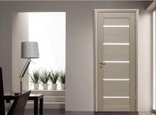 цвет межкомнатной двери в интерьере 2