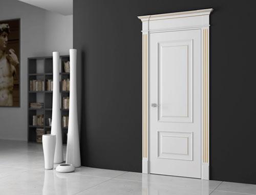 цвет межкомнатной двери в интерьере 6