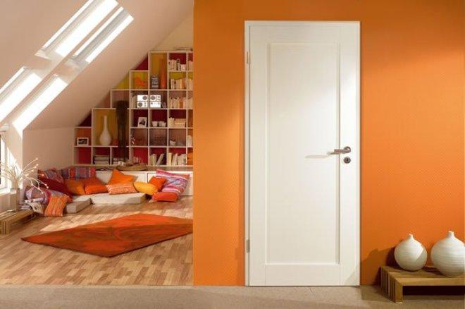 цвет межкомнатной двери в интерьере 7