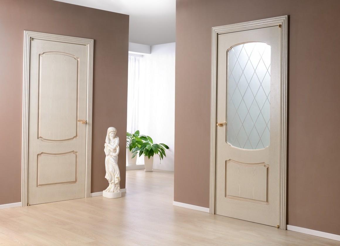 цвет межкомнатной двери в интерьере