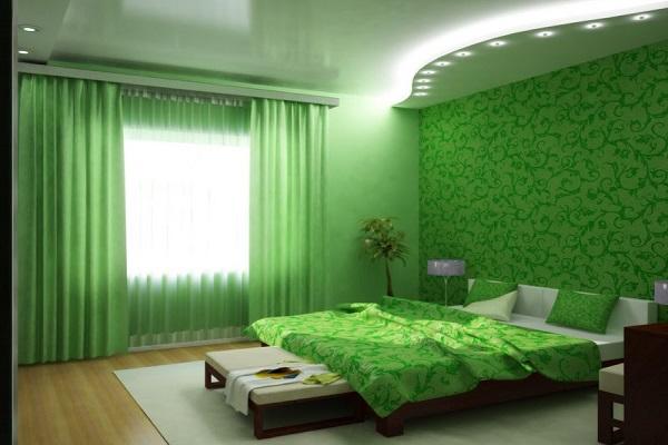 цвет обоев в спальне 3