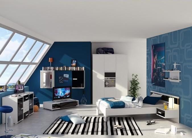 цвет обоев в спальне 4