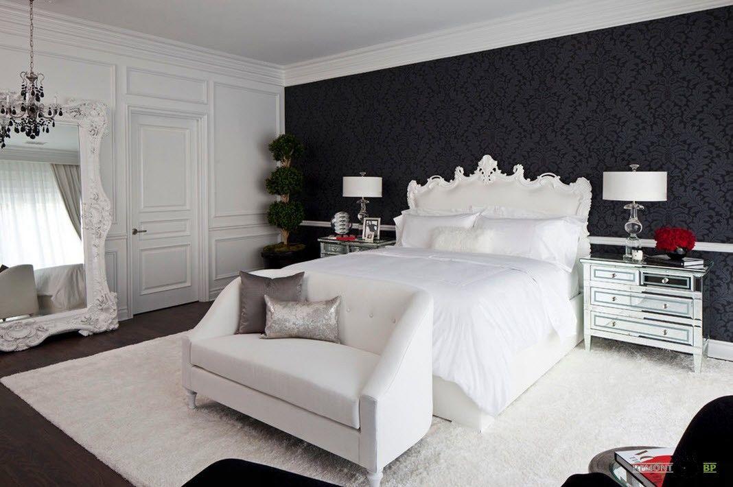 цвет обоев в спальне 5