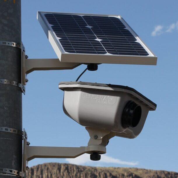 уличная автономная камера