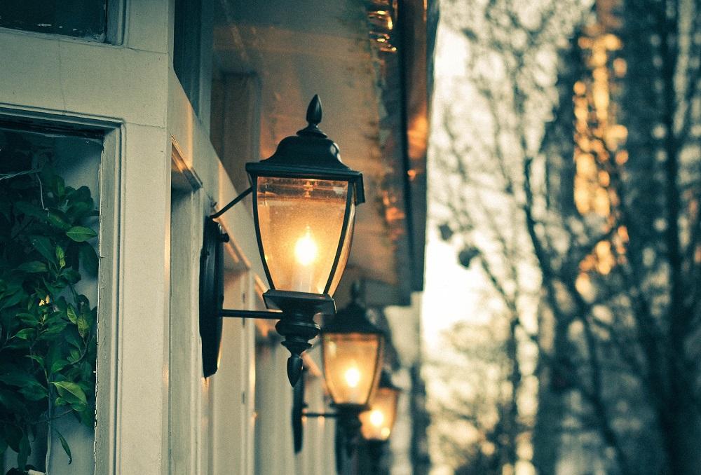 Светильник уличный светодиодный своими руками