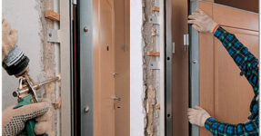 Монтаж входных дверей - 5 главных советов
