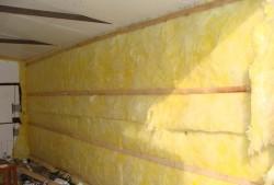 утепление гаража изнутри минеральной ватой 2