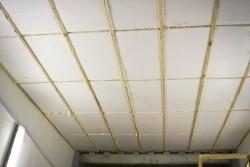 утепление гаража изнутри пенопласт
