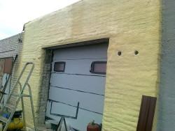 утепление гаража пенополиуретан
