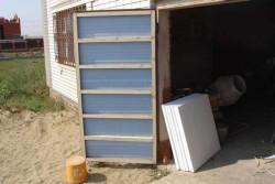 утепление гаражных ворот 4
