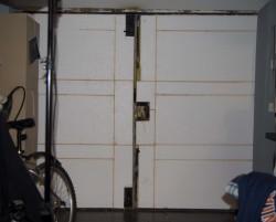 утепление гаражных ворот 5