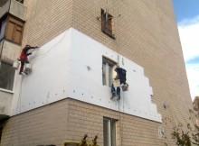 утепление многоквартирных домов пенопласт
