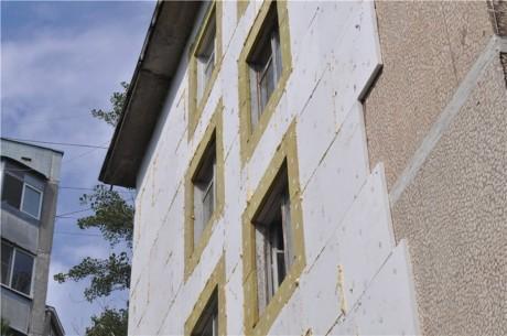 утепление многоквартирных домов пенополистирол