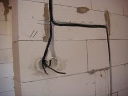 ванная комната монтаж электропроводки