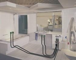 ванная комната установка сантехники