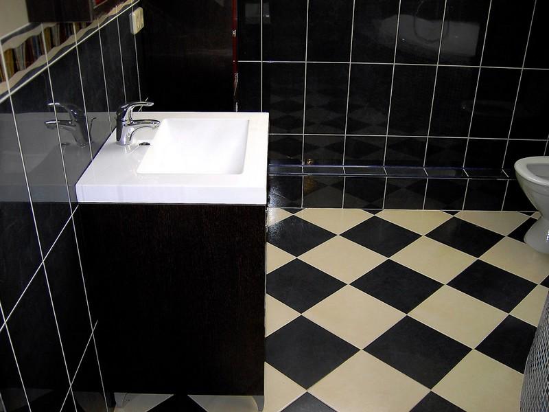 ванная ремонт пола