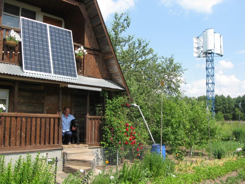 Дача,участок без электричества: 4 варианта автономного электроснабжения загородного дома