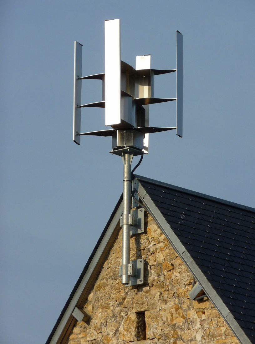 ветрогенератор на даче