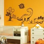 виниловые наклейки в детскую комнату 4