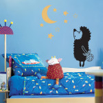 виниловые наклейки в детскую комнату 5