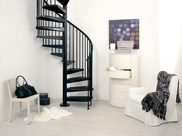 винтовая лестница 7