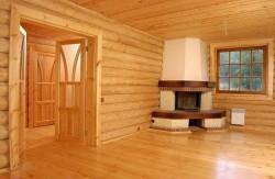 внутрення отделка деревянных стен