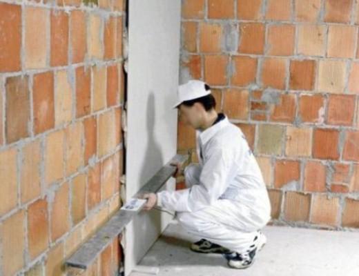№4. Бескаркасное выравнивание стен гипсокартоном