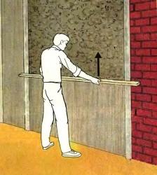 выравнивание стен штукатуркой 4