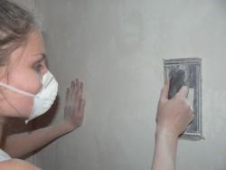 выравнивание стен штукатуркой 6