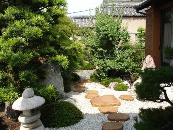 японский стиль в ландшафтном дизайне 5