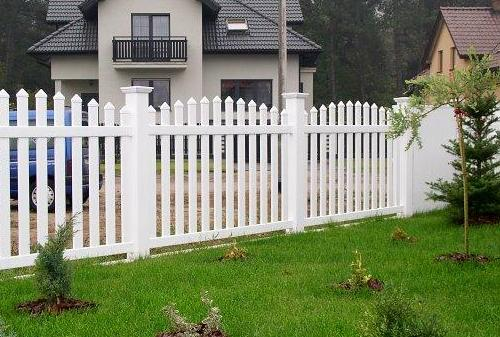 забор для участка из пвх